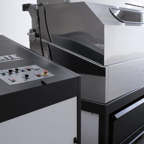 Máquina Lavamoldes panel de control